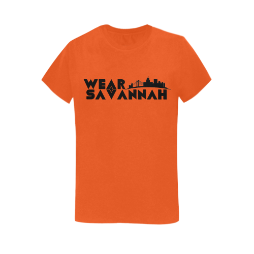 Woman's Wear Savannah T-Shirt (Orange)