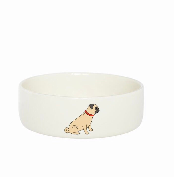 Pug bowls (small size)