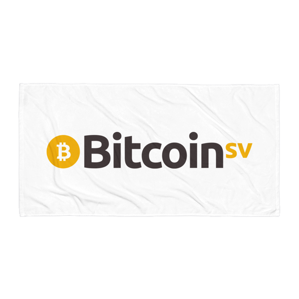 Bitcoin SV Beach Towel