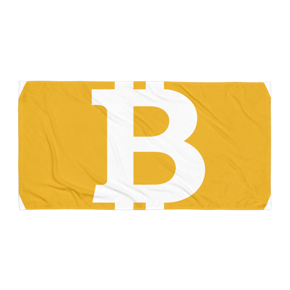 Bitcoin SV Logo Beach Towel