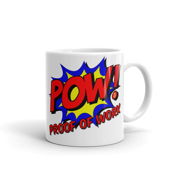 Proof Of Work Bitcoin Coffee Mug 11oz  - zeroconfs