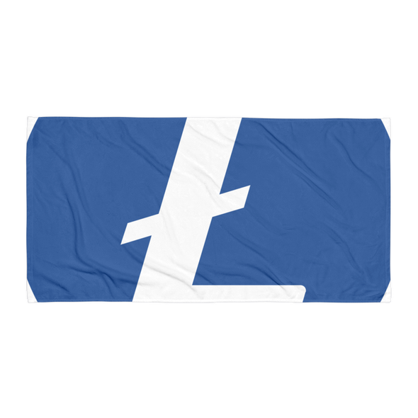 Litecoin Beach Towel