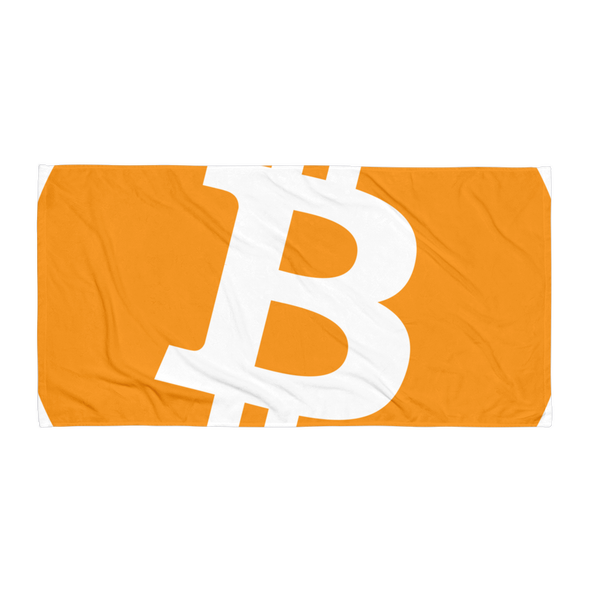 Bitcoin Beach Towel