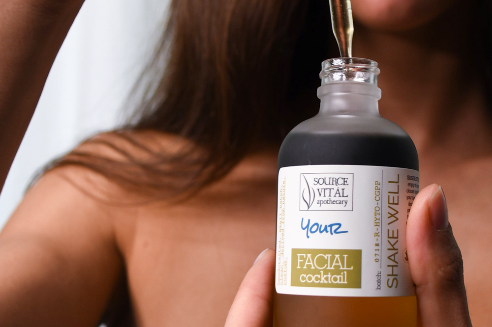 Make Your Own Face Oil Serum by Source Vital