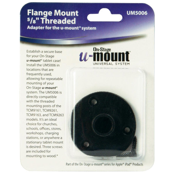 On-Stage UM5006 U-Mount Desk Flange Mount