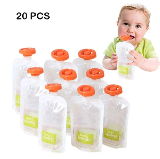Baby Feeding Pouch Kit