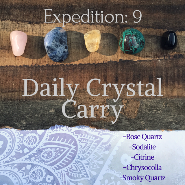 Expedition 9: Daily Crystal Carry