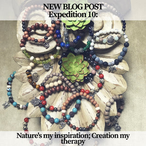 Expedition 10: Nature's my Inspiration; Creation my Therapy