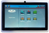 JVA Touch Keypad in Metal Frame (7 inches)