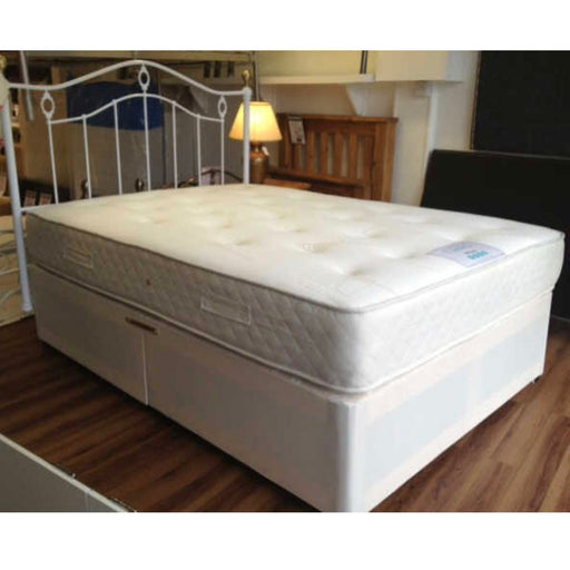 Classic Stress Free Ortho Sprung 120cm (4ft) Three Quarter Divan Bed