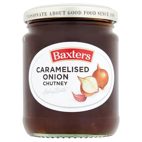 Baxters Caramelized Onion Chutney (CASE of 6 x 290g)
