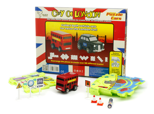 Puzzle Cars - London Bus