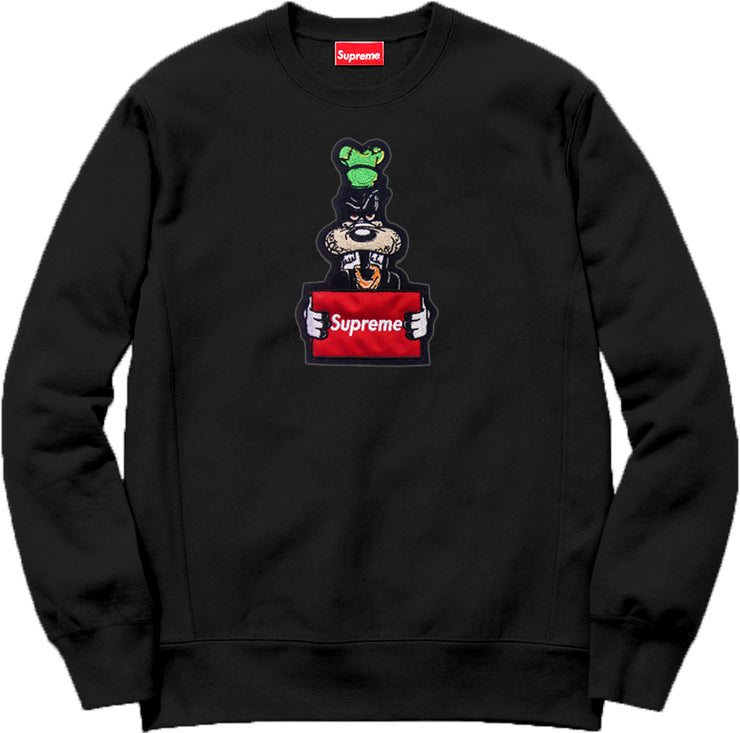 Supreme Spain – Sudadera Wanted Logo Bordado