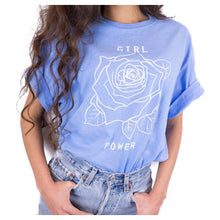 Load image into Gallery viewer, Power Rose Printed T Shirt