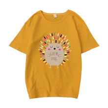 Load image into Gallery viewer, Hedgehog Print T-Shirt