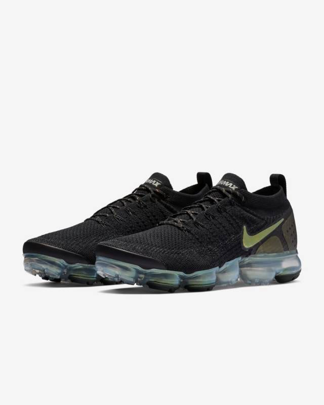 NIKE AIR VAPORMAX FLYKNIT 2 BLACK/ MULTI-COLOR-METALLIC SILVER