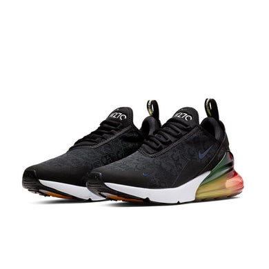 NIKE AIR MAX 270 SE BLACK/ BLACK-LASER ORANGE-EMBER GLOW