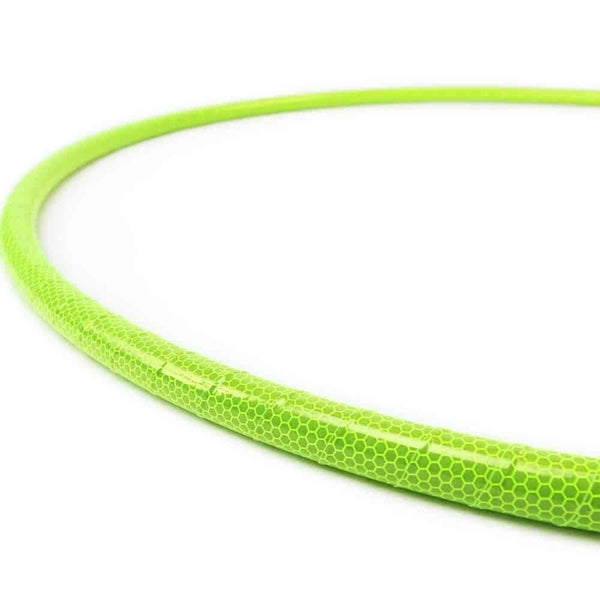 Lime Honeycomb Reflective Hoop-The Spinsterz
