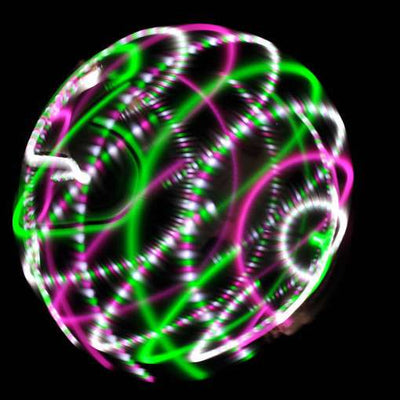 The Spinsterz - Watermelon LED Hoop