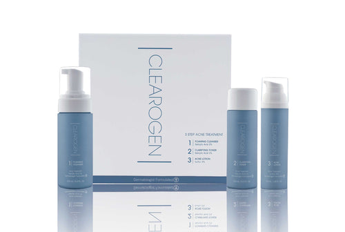 Clearogen Acne Treatment Set for Sensitive Skin (4 Month Supply) - Clearogen