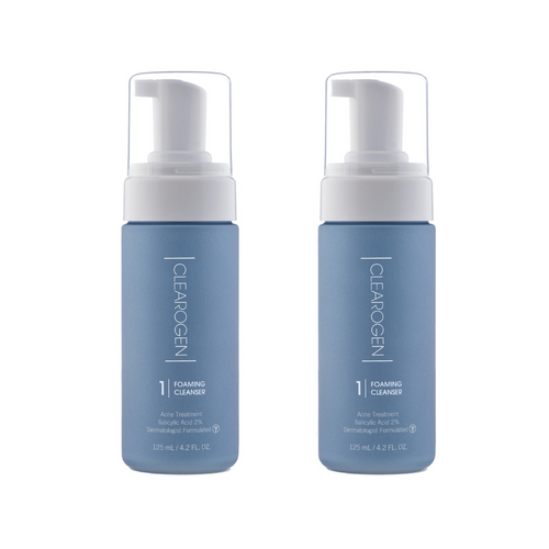 Clearogen Foaming Cleanser (Double Pack) - Clearogen