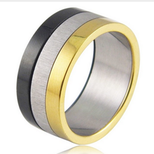 Load image into Gallery viewer, Gorgeous Stainless Steel 316L Unisex 3 Colour Ring