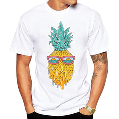 Summer Pineapple Men T-Shirt Fashion Sun Glass - ar-sho.com
