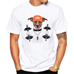 Funny Humor Animal Puppy Pet Dog Dachshund T-Shirt Men's - ar-sho.com