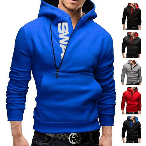 Men's Basic / Street Chic Slim Hoodie