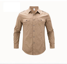 Load image into Gallery viewer, Casual Solid Color Shirt