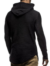 Load image into Gallery viewer, Casual Plain Or Printed Slim Hoodie With Hat