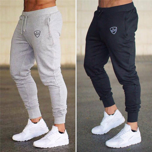 Casual Slim Fit Narrow Leg Opening Training Pants