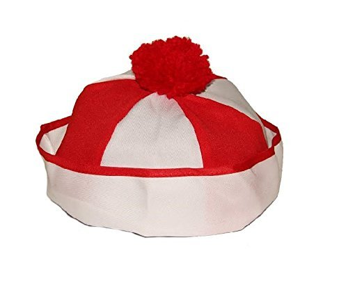 Dazzling Toys Christmas Hat | Kids Hat Clown or Wheres Waldo Costume Hat Set