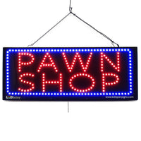 Pawn Shop - Large LED Window Sign (#2617) - Led Open Signs