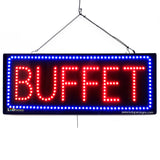 Buffet - 32 inches Wide - LED-Factory (#2679) - Led Open Signs