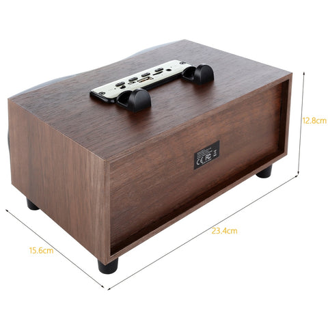 Image of TR-Wooden Portable Wireless Speaker