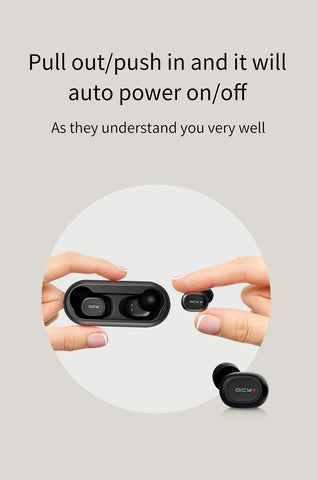 Image of QCY Mini Dual Wireless Ear-pods