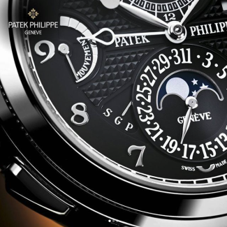 Black Patek Men's Watch