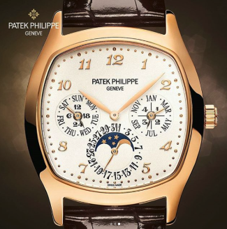 Moonphase Patek Men's Timepiece