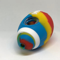 football themed silicone pipe