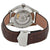 Load image into Gallery viewer, TAG Heuer Men's Carrera Automatic Calibre 5 Silver Dial Watch with Brown Leather Strap