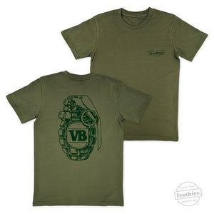 Green Grenade Tee - Limited Editions