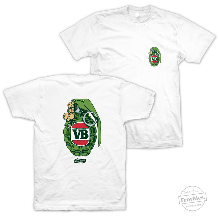 Green Grenade Tee - Colour