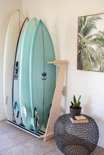 Load image into Gallery viewer, THE PACIFICA FREESTANDING SURFBOARD DISPLAY RACK