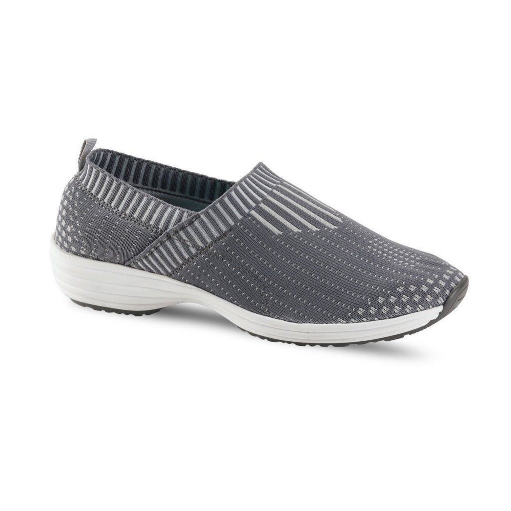Grey / 36 Sanita Wave Professional Knit Shoe Shoes