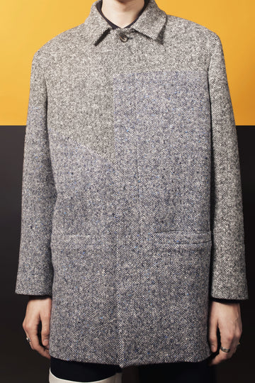 JARVIS– TWEED WOOL COAT