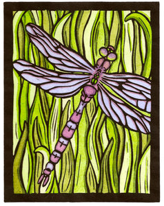 Original - Dragonfly - Sarah Angst Art Greeting Cards, Giclee Prints, Jewelry, More