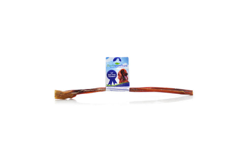 Barkworthies Odor Free Bully Stick - 12 inches in length