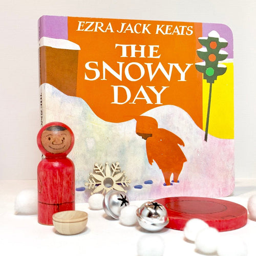 The Snowy Day Play Set and Book
