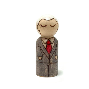 Billy Graham Mighty Man Peg Doll